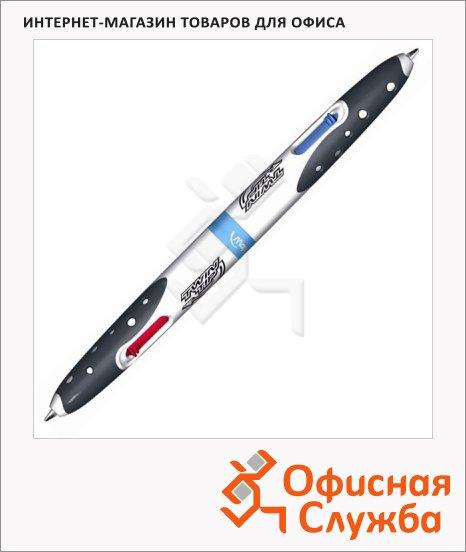 фото: Ручка шариковая автоматическая Maped Twin Tip двусторонняя 1мм, 4 цвета, корпус с рисунком