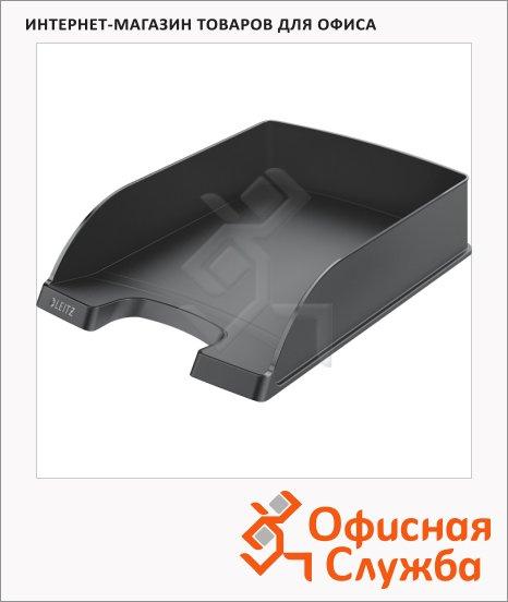 Лоток горизонтальный для бумаг Leitz Plus Standard A4, черный, 52272095