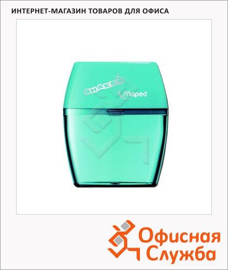 Точилка Maped Shaker 2 отверстия, с контейнером, ассорти, 534755