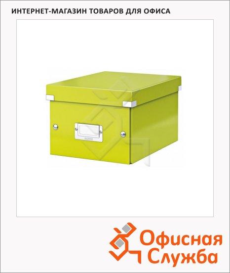 Архивный короб Leitz Click & Store-Wow зеленый, A5, 220x160x282 мм, 60430064