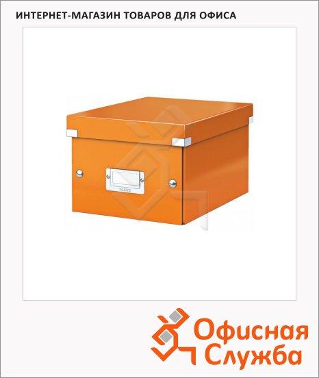 Архивный короб Leitz Click & Store-Wow оранжевый, A5, 220x160x282 мм, 60430044