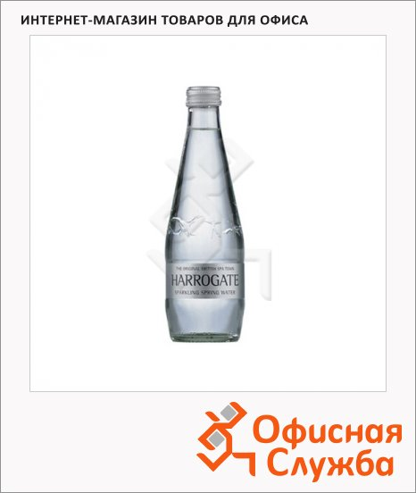 фото: Вода питьевая Harrogate газ стекло, 330мл