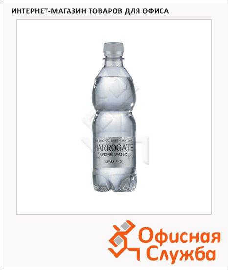 Вода питьевая Harrogate газ, ПЭТ, 0.5л