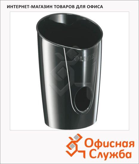 фото: Подставка для ручек Leitz Allura 2 секции 90x135x90мм, черная, 52030095