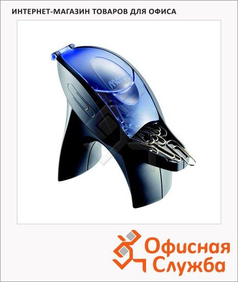 Скрепочница магнитная Maped Ergologic ассорти, +100 скрепок, 375213