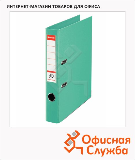 фото: Папка-регистратор А4 Esselte Power №1 светло-зеленая 50 мм, 811412