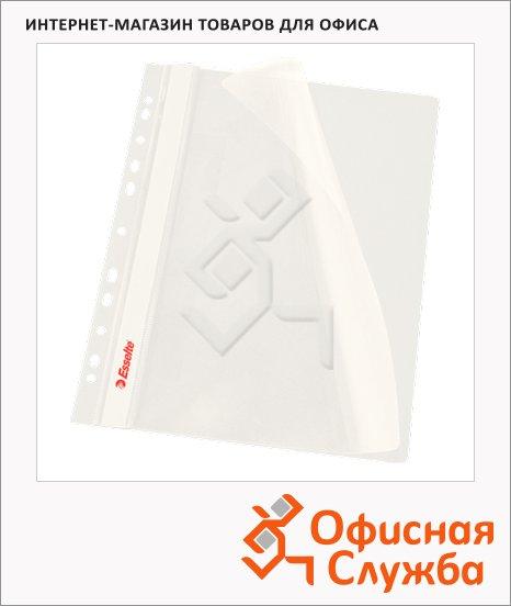 Скоросшиватель с перфорацией Esselte белый, А4, 10 шт/уп, 13583