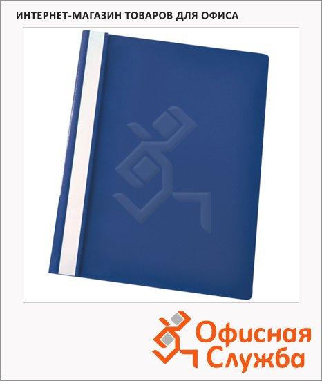 Скоросшиватель пластиковый Esselte синий, А4, 5 шт/уп, 28327