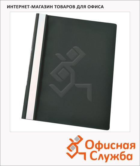Скоросшиватель пластиковый Esselte черный, А4, 5 шт/уп, 28332