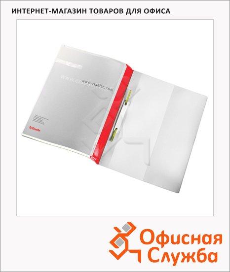Скоросшиватель пластиковый Esselte Панорама красный, А4, 28359