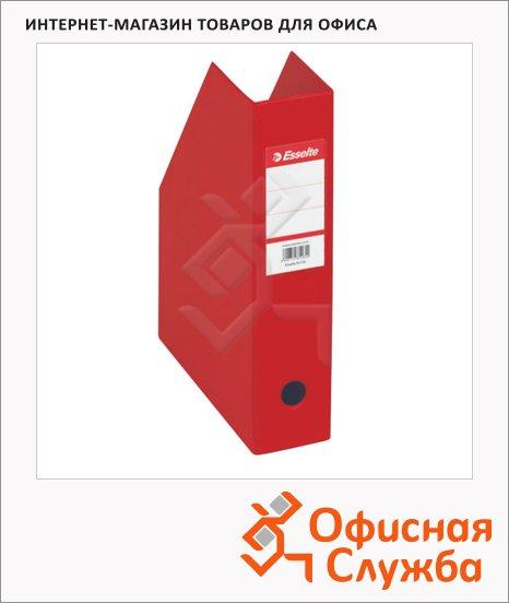фото: Накопитель вертикальный для бумаг Esselte А4 70мм, красный, 56003