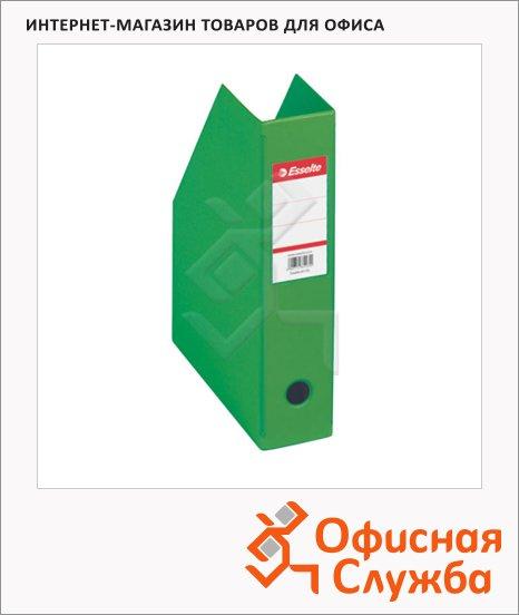 Накопитель вертикальный для бумаг Esselte А4, 70мм, зеленый, 56006