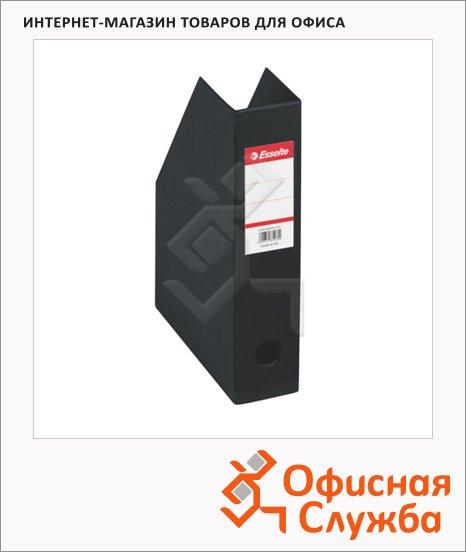 фото: Накопитель вертикальный для бумаг Esselte А4 70мм, черный, 56007