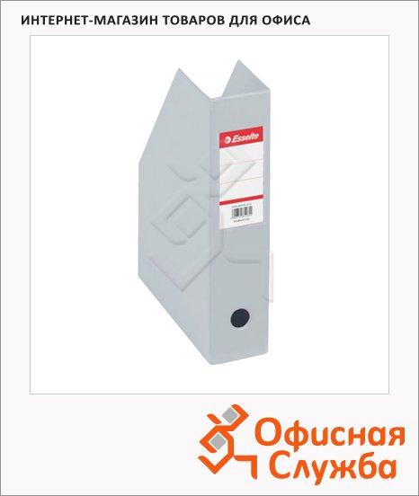 Накопитель вертикальный для бумаг Esselte А4, 70мм, серый, 56008