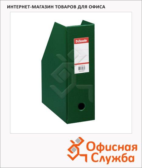 Накопитель вертикальный для бумаг Esselte А4, 100мм, зеленый, 56076