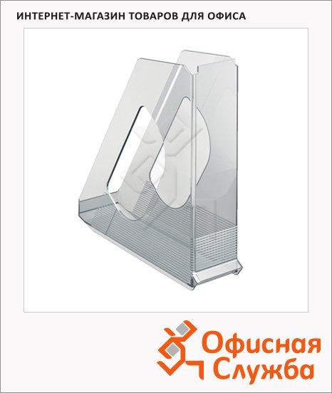 Накопитель вертикальный для бумаг Esselte Europost А4, 72мм, прозрачный, 21433