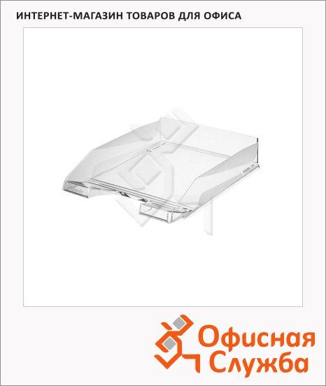 фото: Лоток горизонтальный для бумаг Esselte Europost A4 прозрачный, 623603