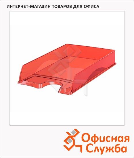 Лоток горизонтальный для бумаг Esselte Intego А4, красный, 28434