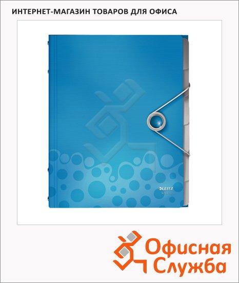 Папка-органайзер Leitz Bebop синяя, А4, 6 разделов, 45690037