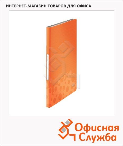 фото: Папка файловая Leitz Bebop оранжевая А4, на 40 файлов, 45650045