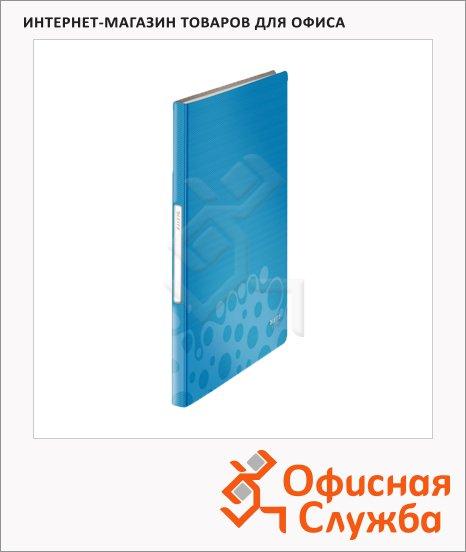 фото: Папка файловая Leitz Bebop синяя А4, на 40 файлов, 45650037