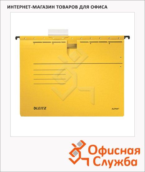 Папка подвесная стандартная А4 Leitz Alpha желтая, 19840015