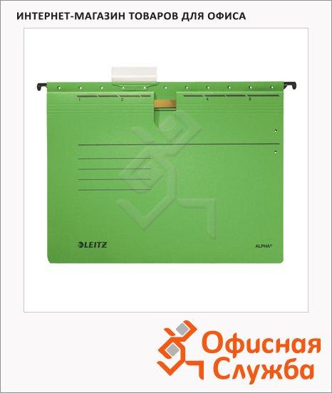 фото: Папка подвесная стандартная А4 Leitz Alpha зеленая 19840055