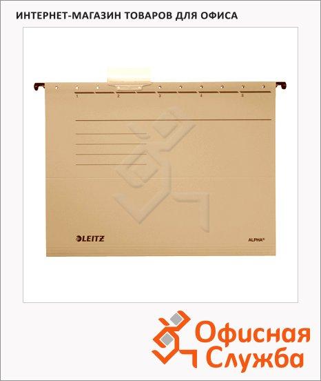 фото: Папка подвесная стандартная А4 Leitz Alpha Стандарт бежевая 19150000