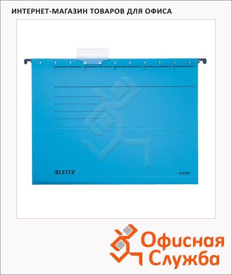 фото: Папка подвесная стандартная А4 Leitz Alpha Стандарт синяя 19850035