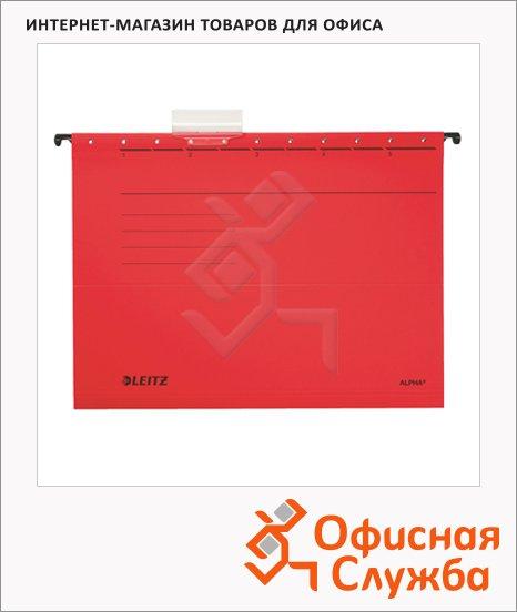 фото: Папка подвесная стандартная А4 Leitz Alpha Стандарт красная 19850025