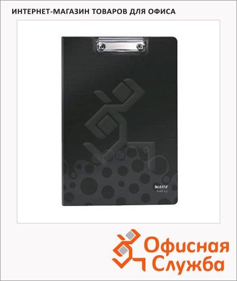Клипборды с крышкой Leitz Bebop черная, А4, 39620095