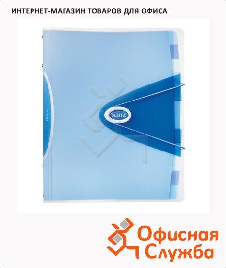 Папка-органайзер Leitz Allura 12 разделов, А4, 45230034, голубая
