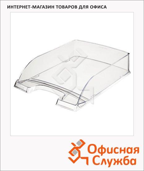 фото: Лоток горизонтальный для бумаг Leitz Plus Standard A4 прозрачный глянцевый, 5226-20-02