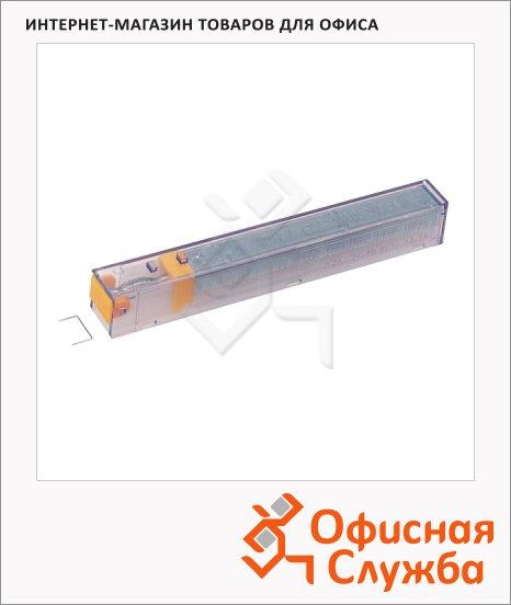 Скобы для степлера Leitz К8 №26/8, 210 шт, желтая упаковка, 55920000