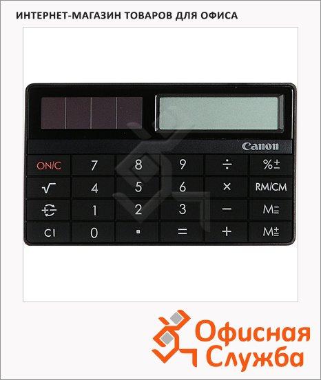 Калькулятор настольный Canon X Mark I Card черный, 8 разрядов