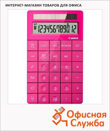 Калькулятор настольный Canon X Mark I розовый, 12 разрядов, бухгалтерский