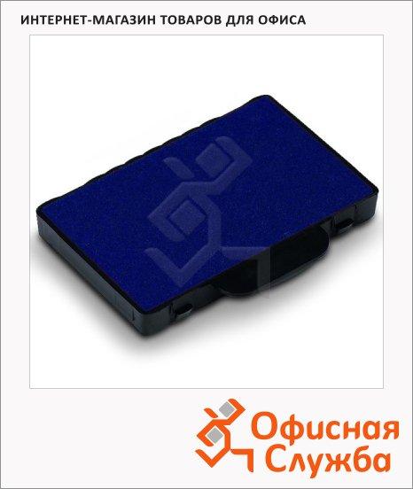 Сменная подушка прямоугольная Trodat для Trodat 5465/5460/5206/5558/55510/5466/5117/5204, синяя, 6/56