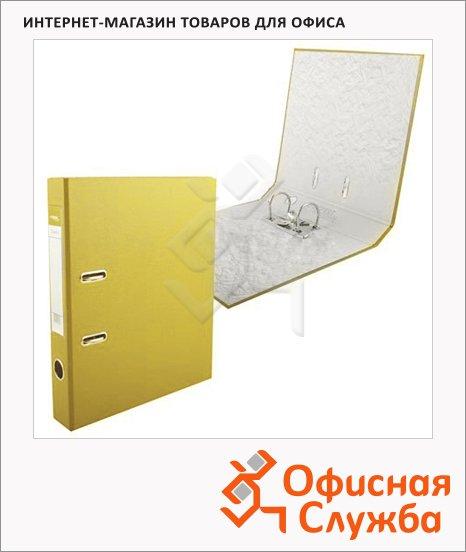 Папка-регистратор А4 Expert Complete Classic желтая, 50 мм