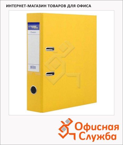 Папка-регистратор А4 Expert Complete Classic желтая, 80 мм