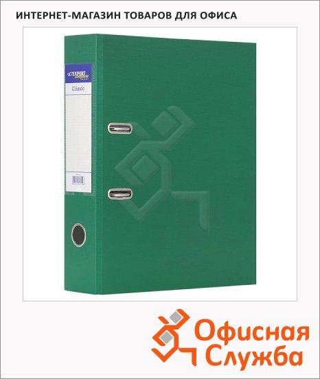 фото: Папка-регистратор А4 Expert Complete Classic зеленая 75мм, 25173