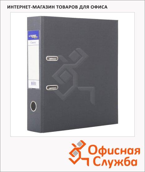 Папка-регистратор А4 Expert Complete Classic серая, 80 мм