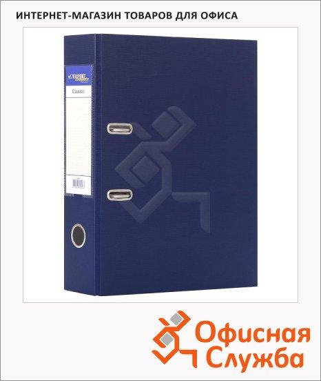 Папка-регистратор А4 Expert Complete Classic синяя, 80 мм
