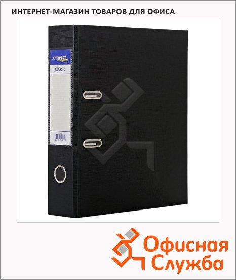 фото: Папка-регистратор А4 Expert Complete Classic черная 75мм, 25171