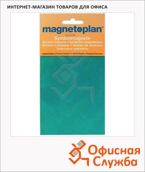 фото: Магниты Magnetoplan d=15мм 30шт/уп, зеленые