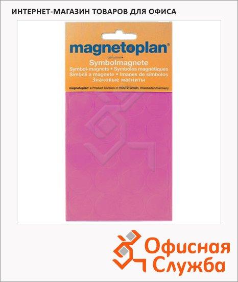 фото: Магниты Magnetoplan d=15мм 30шт/уп, фиолетовые