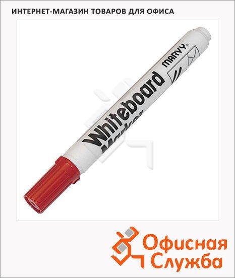 фото: Маркер для досок Marvy 7222В красный 1.5-3мм, круглый наконечник