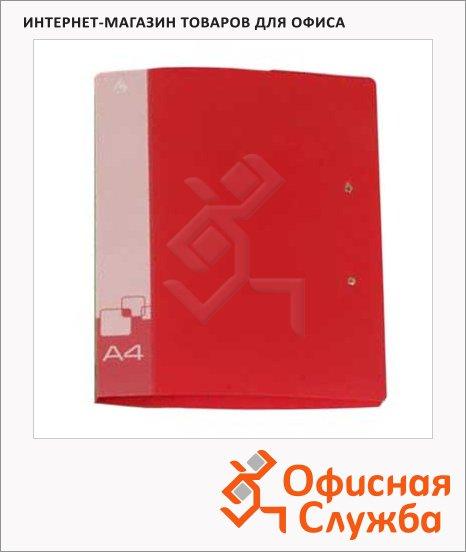 Папка пластиковая с зажимом Бюрократ ассорти, А4-А3, 0.7мм, PZ07