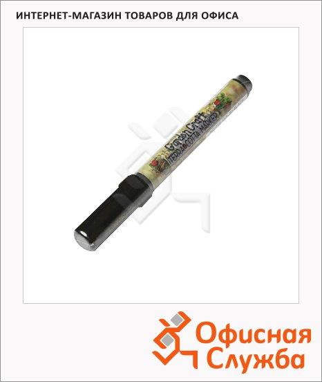 Маркер перманентный Marvy 210 черный, 1-2мм, круглый наконечник, для дерева и пористых поверхностей