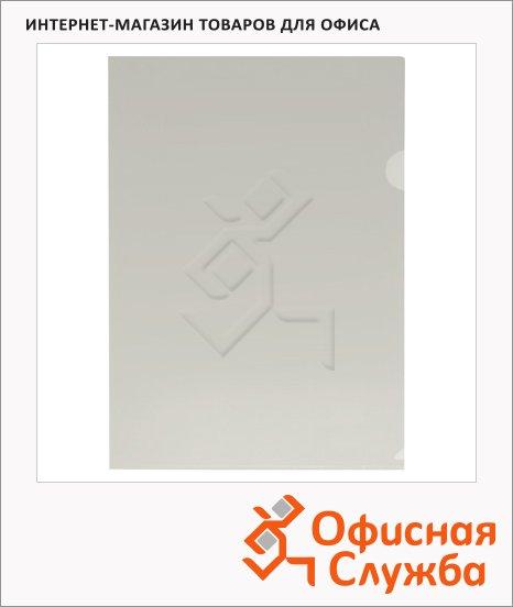 фото: Папка-уголок Бюрократ прозрачная A4, 150мкм, EE310/1CLEAR