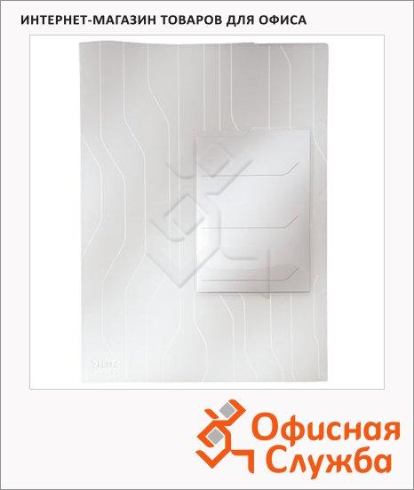 фото: Папка-уголок Leitz CombiFile Premium прозрачная A4, 200мкм, 3 шт/уп, 47290003